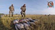 Охота на серого гуся #охотникирыболов #охотанагуся
