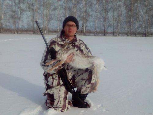 Первый заяц в сезоне