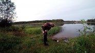 Подводная охота в чистом пруду, Поиск линя, щуки. Рыбалка летом.