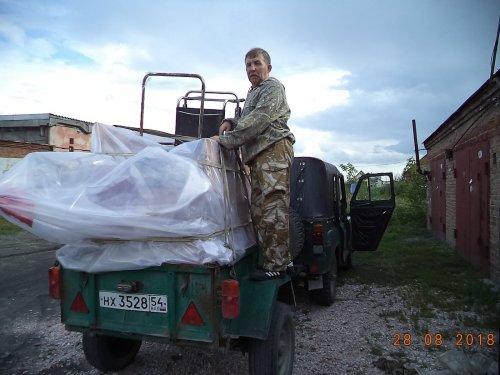 Осень 2018г. Краснозерский р-он, оз. Конёво.