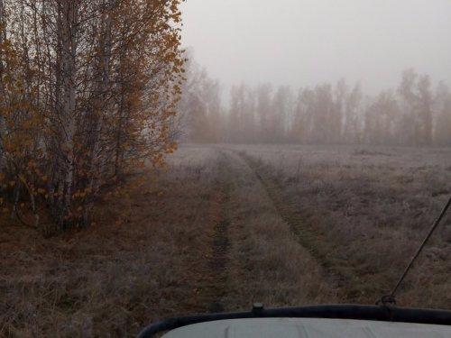 Октябрь, утро туманное!