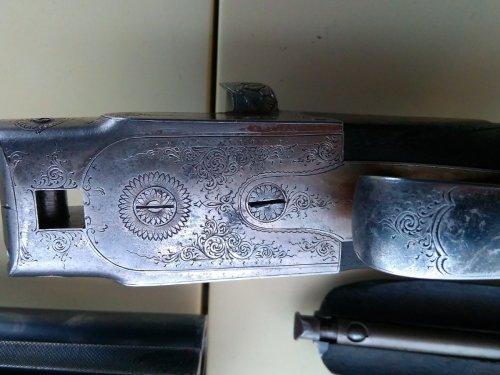 Старинное ружье.