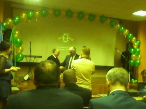 Председатель НСО Кобыленко поздравляет омичей.