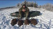 Выбор обуви для охоты и рыбалки зимой. Сапоги Каблан ПУ+ТПУ до - 60.