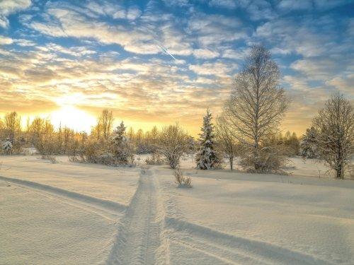 земля замерзла, можно ездить