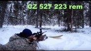Пристрелка CZ 527 223 rem. Поездка на аэросанях.