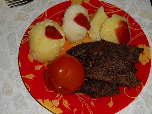 Печёночные «стейки»