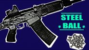 Стрельба стальными шарами из ружья. Самая точная пуля.