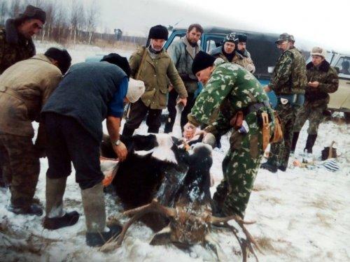 Охота в Кировской области.