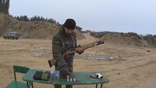 МР-155. Пыж-контейнер ДИСПЕРСАНТ. ТЕСТ - ОТСТРЕЛ. Мои подсумки и коробки для патронов.