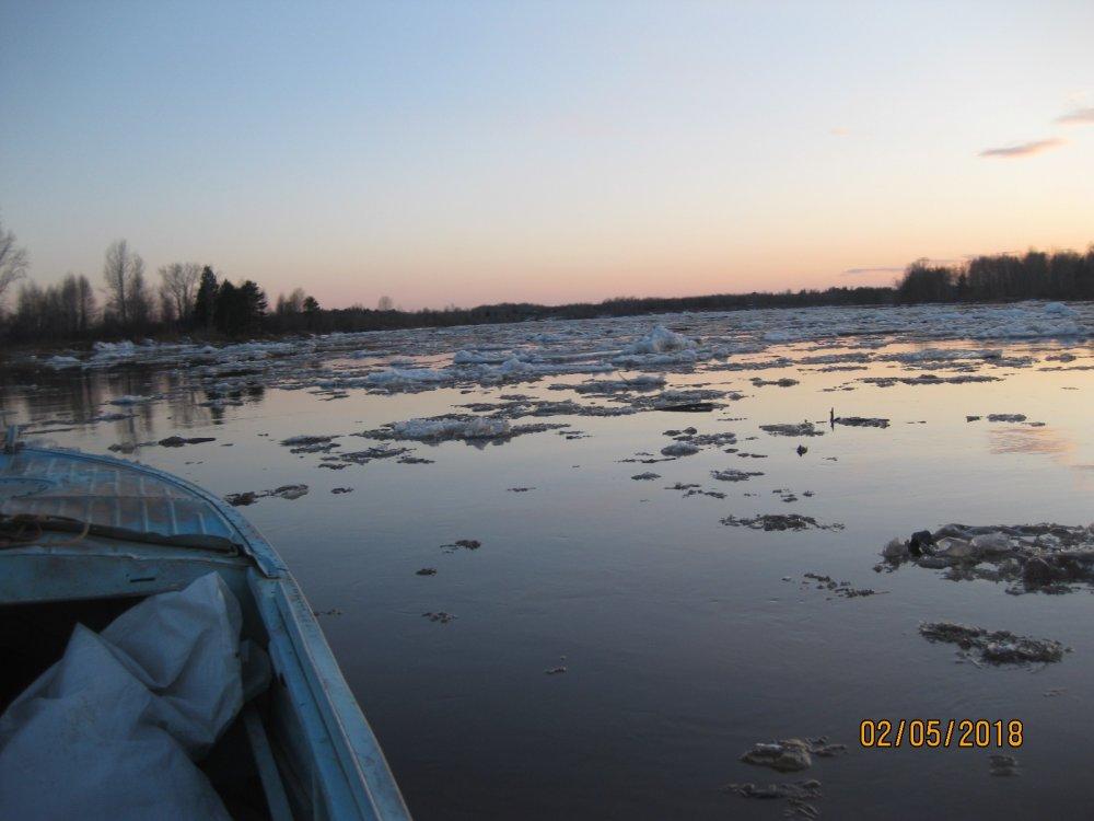 Маленько лед остался