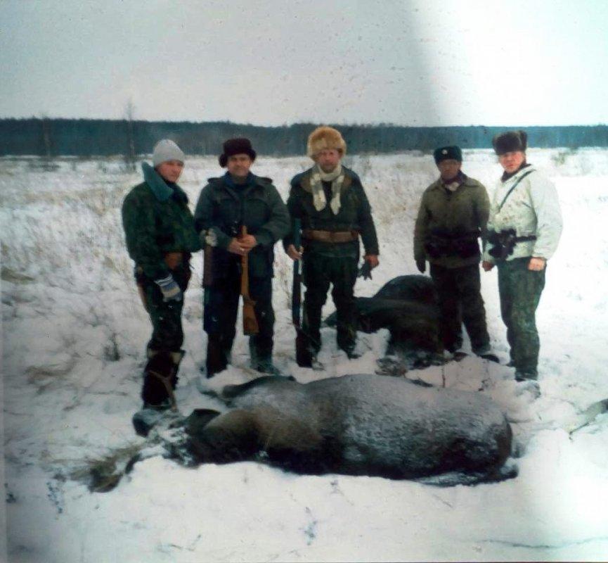 Охоты в Кировской области в 80-х годах