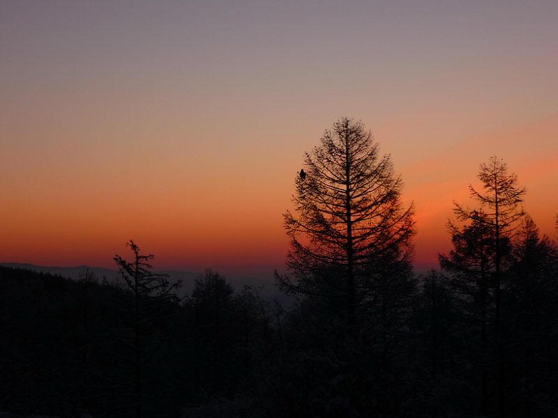 Закат в Тыве.