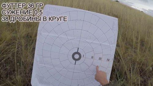 МР-155 РУСИЧ.СТРЕЛЬБА ПО МИШЕНЯМ.ПАТРОН НА ЗАЙЦА.