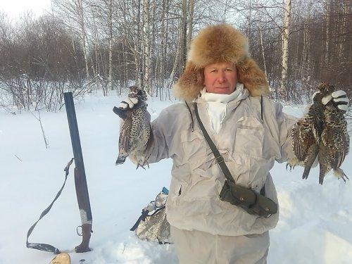 Потеплело решили рябков погонять -32