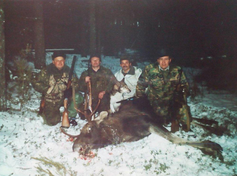 Фото из прошлых охот в Кировской области.