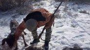 Закрытие охоты на зайца -  февраль 2019