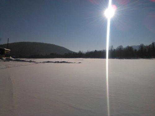 Морозное солнце.