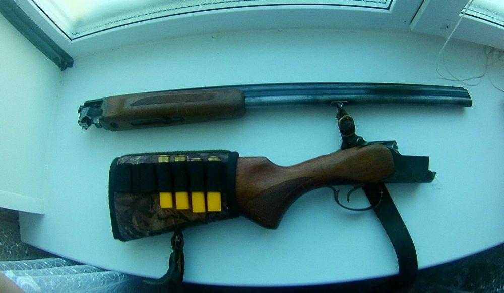 моё  ружьё.