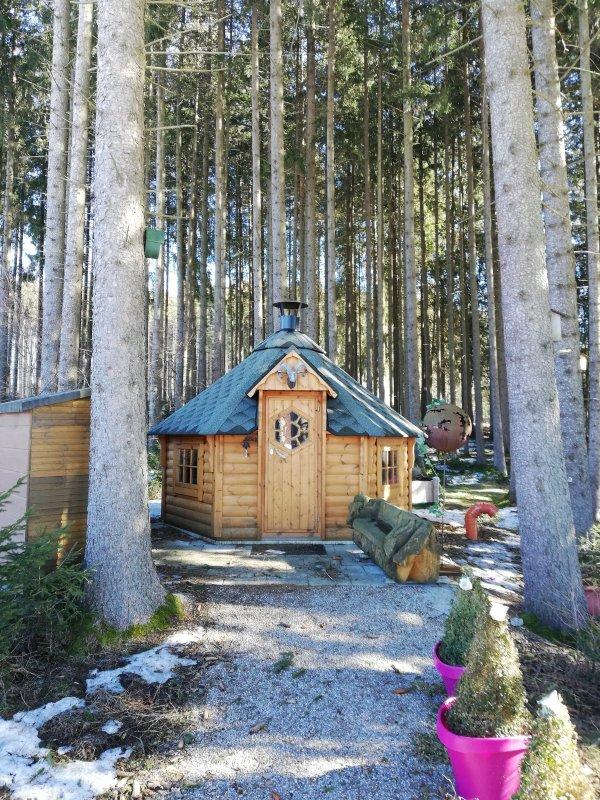 Домик в лесу.))))