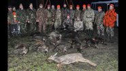 Охота на кабана. Выезд на охоту в Республику Беларусь, часть-2.