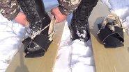 Ичиги - как обувь для охотника и лыжи с камусом от компании Поскряков