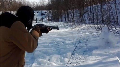 Стрельба патронами Магнум