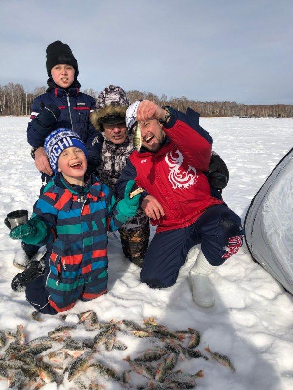 Приобщаем детей к рыбалке