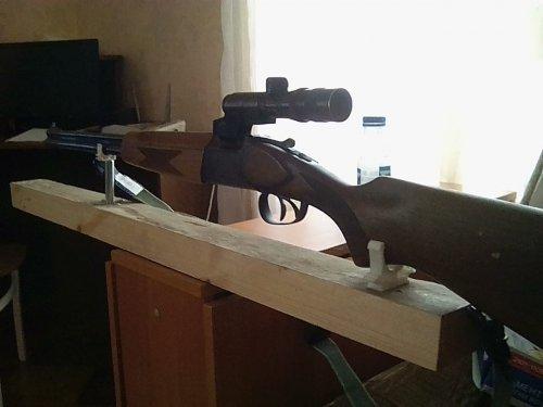 пристрелка! станок бюджетный вариант!