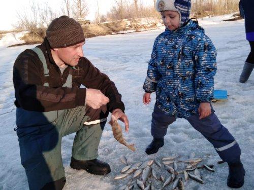 Уже рыбак.