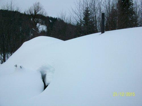 Зимой на базовом зимовье.