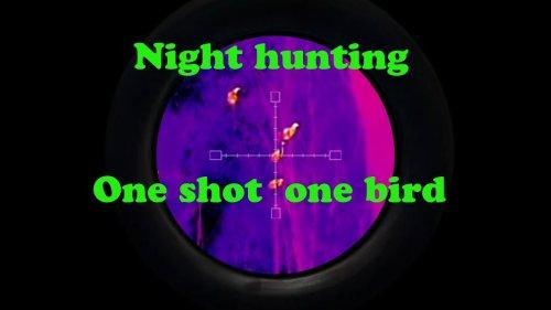 Тепловизор Охота | Ночная охота | Профессиональные инструменты Охота | Пятна некуда убежать!