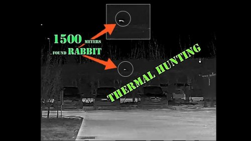 Сюрприз снаружи - 1500-метровый охотничий кролик с тепловизором на 12 микросхем