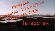 #охотанагуся #гусинаяохота#goosehunting#goosehunting # Охота на ГУСЯ 2019, РАЗВЕДКА в Татарстане .