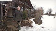 Большое Окатово. Один житель в деревне. Нежилая деревня.
