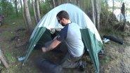 Отличный Отдых на Природе! Заночевал Один в Палатке! Готовлю Ужин на Костре! Лучшая Рыбалка...