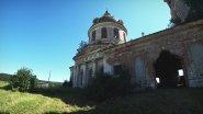 Заброшенная церковь села Суводь. Престолы Рождества Иоанна Предтечи.