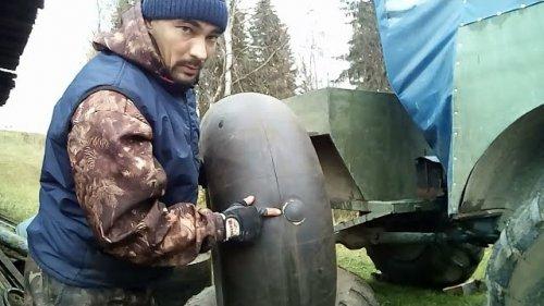 13 ЗАПЛАТОК!!!! ЧТО СТАВЯТ В КОЛЁСА КАРАКАТА!!! И.П Беляев.Замена второй камеры