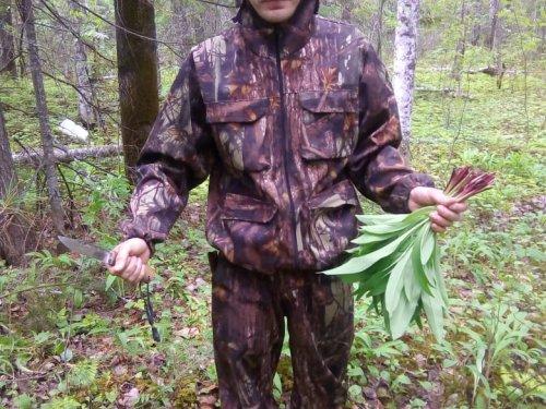 Сходил в лесной огород.