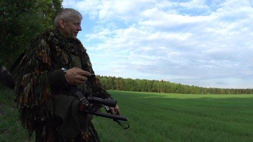 Открытие охоты на самца косули в РБ 2019. Бекас-Авто, подствольный фонарь Armytek Viking