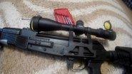 ВЕПРЬ-308//Russian machine gun on NATO cartridge..!!