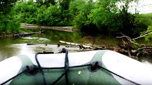На такой лодке на охоту – в любую глухомань