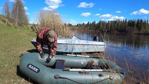 Сплав по реке  Пижма за пропавшей лодкой