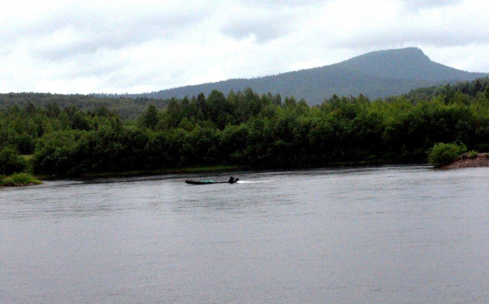 Лодка на Вишере