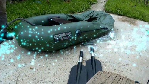 Обзор новой лодки Аква Оптима -190!
