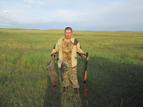 В степях Казахстана