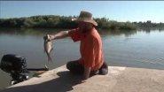 Рыбалка неводом и огромный лещ на удочку