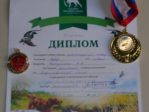 испытания состязания по водоплавающей птице июль 2019