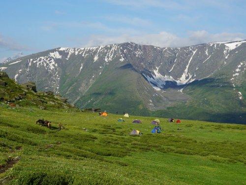 Утро на высоте 2500 метров