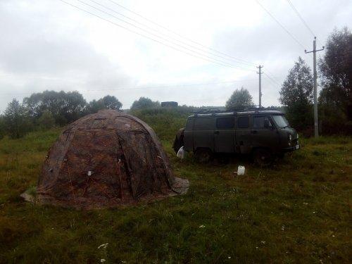 Палатка УП-2. Свежие впечатления.